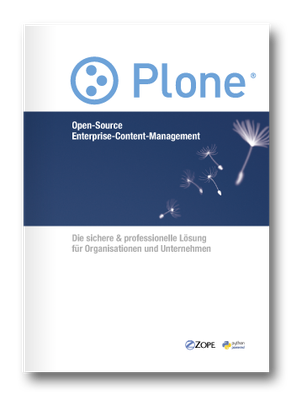 Cover Plone Broschüre 2011