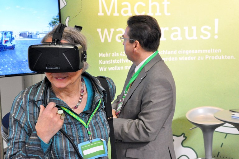 All kind of audiences are touched by VR experience