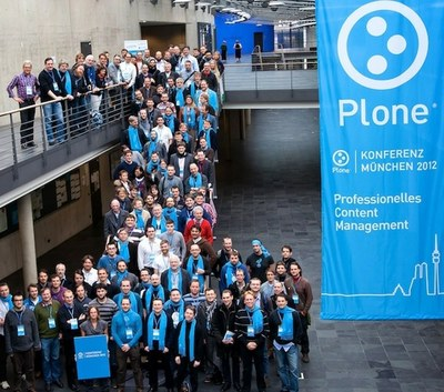 The Plone Konferenz 2012 Attendendees Group Photo